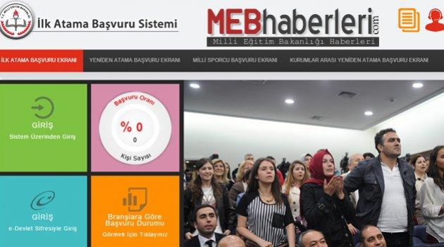 2016 Şubat Atama Başvuru Ekranı Açıldı!