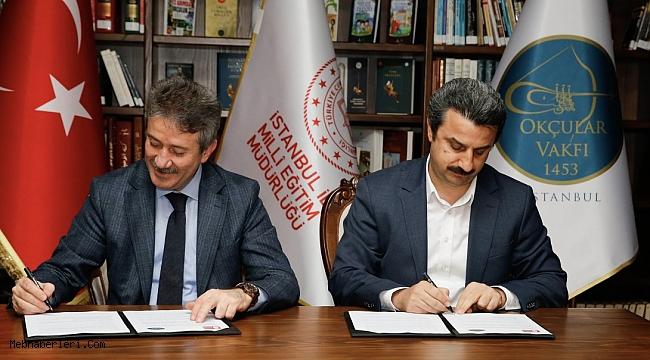 İstanbul İl Milli Eğitim Müdürlüğü ile Okçular Vakfı Arasında Protokol İmzalandı.
