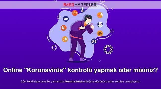 Evde Koronavirüs Testi
