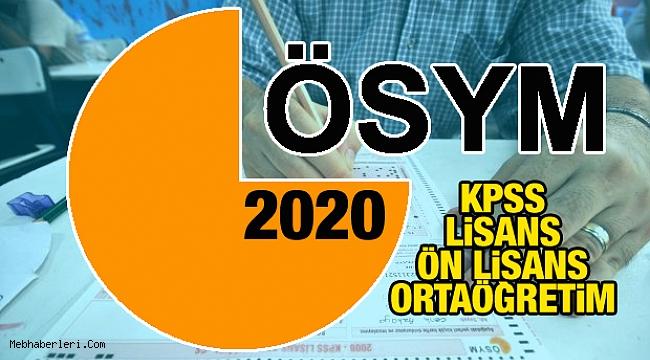 2020 KPSS Sonuçları