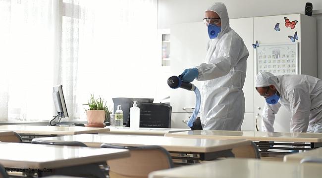 """MEB, Koronavirüse karşı tüm okullarda """"Eş Zamanlı Hijyen"""" uygulaması başlattı"""