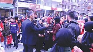 Düzce'de TSK Destek Yürüyüşüne İlçe Milli Eğitim Müdürü Engeli