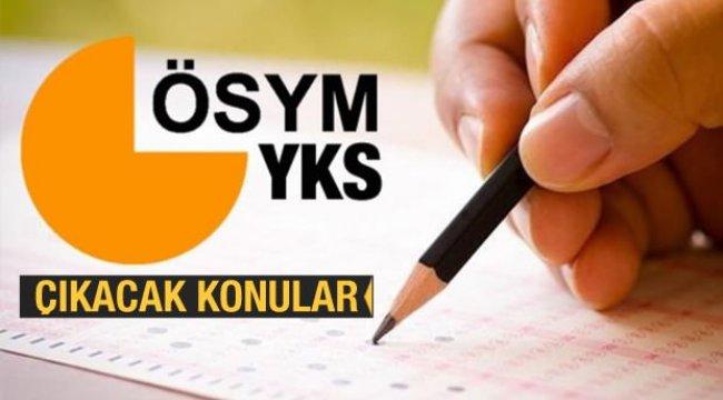 2020 YKS (üniversite) sınav konuları açıklandı! TYT, AYT, YDT sınav konuları