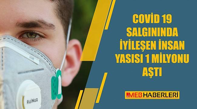 COVID-19 salgınında iyileşen insan sayısı 1 milyona ulaştı