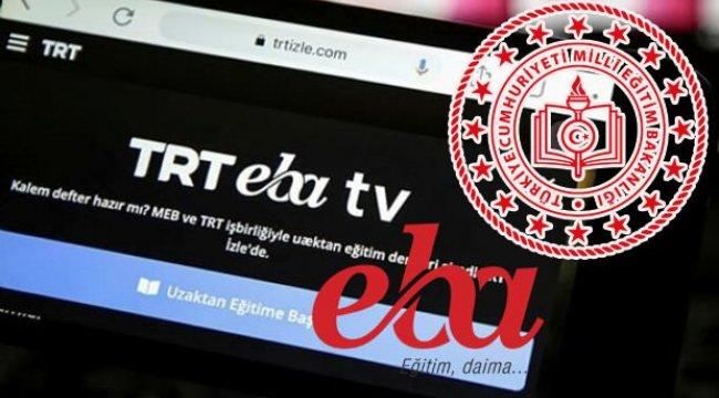 EBA TV ders tekrar saatleri: EBA ders tekrarı izle!