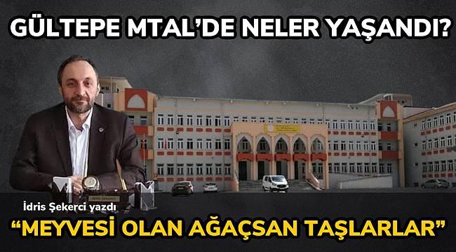 EBS İstanbul 6 Nolu Şube Başkanı İdris ŞEKERCİ Gültepe MTAL'de olanları yazdı.