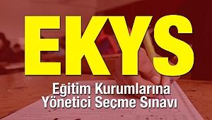 EKYS Sınavı Cevap Kağıtları Erişime Açıldı