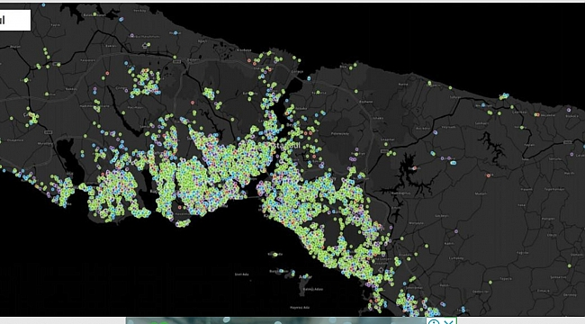 İstanbul Koronavirüs haritası