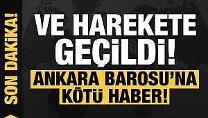 Ankara Barosu hakkında soruşturma!