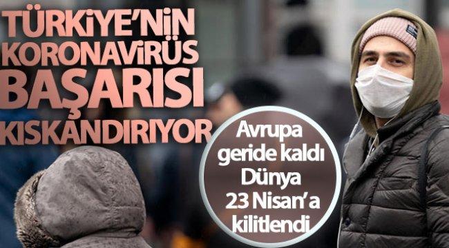Türkiye'nin koronavirüs başarısı kıskandırıyor