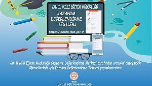 5. sınıflar için Türkçe 6. sınıflar için Matematik 7. sınıflar için ise Fen Bilimleri Kazanım Değerlendirme Testleri İndir