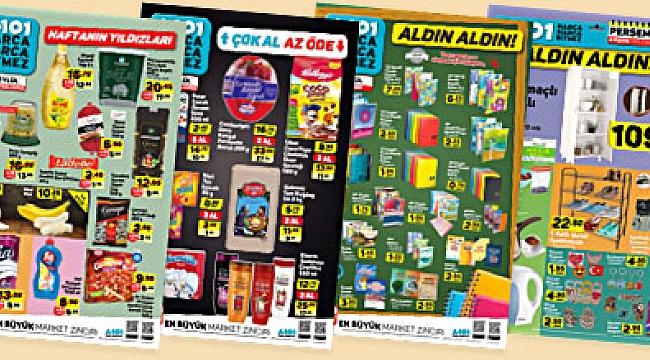 A101 28 Mayıs 2020 İndirimli Ürünler Kataloğu