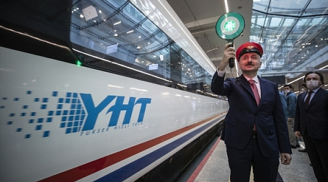 Yüksek Hızlı Tren seferleri yeniden başladı