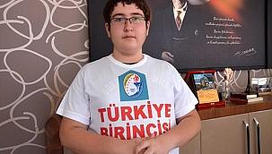LGS Türkiye birincisi Alperen Yılmaz: Mektubum cumhurbaşkanımıza ulaşmış
