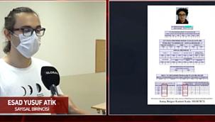 YKS Sayısal birincisi Esad Yusuf Atik! 'Telefonu açtım, şifreyi girerken elim titriyordu'