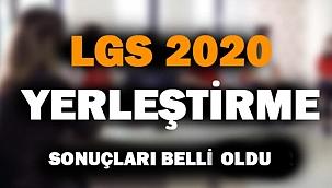 2020 LGS Yerleştirme Sonuçları Açıklandı!