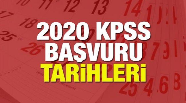 KPSS lise (ortaöğretim) ön lisans başvuru tarihleri! KPSS başvuruları ne zaman başlayacak?