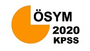 KPSS önlisans ve ortaöğretim başvurusu başladı mı? ÖSYM 2020 memurluk sınavı başvuru ne zaman?