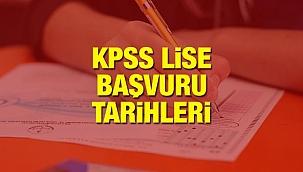 KPSS ortaöğretim (lise) başvuru tarihleri: 2020 KPSS ortaöğretim başvuruları başladı mı?