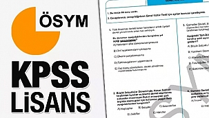KPSS sınav sonuç takvimi: 2020 ÖSYM KPSS lisans soru ve cevap kitapçığı…
