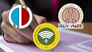 Açıköğretim Fakültesi sınav takvimi 2020-2021! (ATA AÖF, Anadolu Üniversitesi, AUZEF)