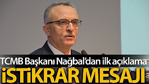 TCMB Başkanı Ağbal'dan ilk açıklama: 'Temel amacımız fiyat istikrarını sağlamak ve sürdürmek'