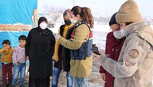 Ardahan'da jandarma, köylerde KADES'i anlattı