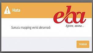 """EBA çöktü mü? """"Mapping verisi alınamadı"""" hatası ne demek? 30 Kasım Mapping hatası çözümü!"""