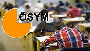 ÖSYM 2021 yeni sınav tarihleri: