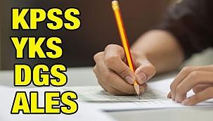 YKS, DGS, KPSS ve ALES sınavları 2021 yılında ne zaman yapılacak? ÖSYM yeni sınav takvimi...