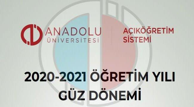 AÖF güz dönemi sınav tarihleri: Anadolu Üniversitesi İktisat ve İşletme final sınavı online...