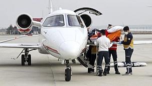 Prof. Dr. İlhan Başgöz, ambulans uçakla ABD'den Türkiye'ye getirildi