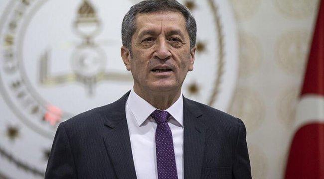Bakan Ziya Selçuk'tan karne tarihi ve lise sınavlarına ilişkin kritik açıklama