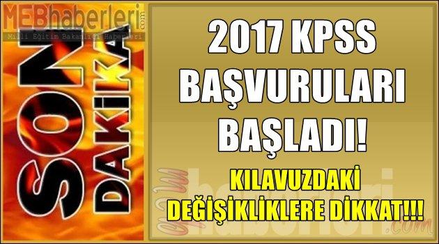 KPSS Başvuruları Başladı! Kılavuzda Yapılan Değişikliklere Dikkat!