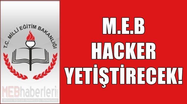 MEB, Hacker Yetiştirecek