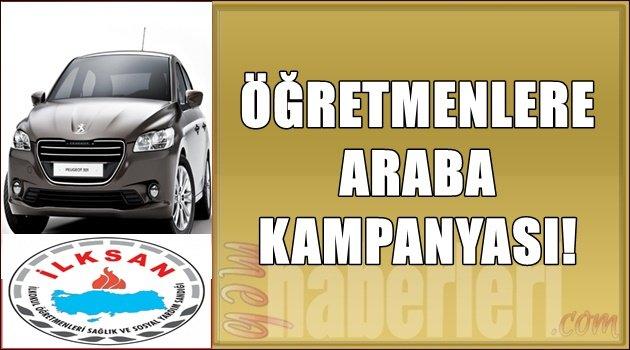 Öğretmenlere Araba Kampanyası