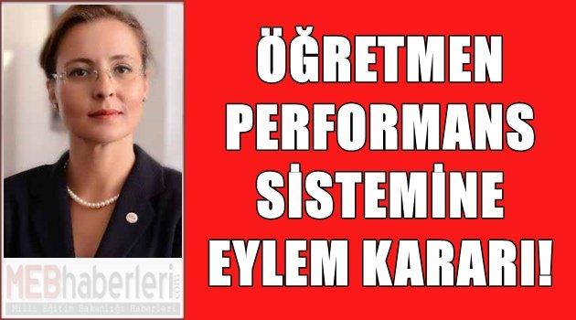 Öğretmenlere Performans Sistemine Eylem Kararı!