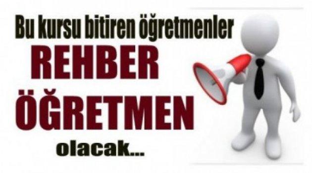 MEB Rehber Öğretmenlik Kursu Açıyor!