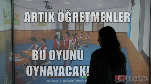 Öğretmenler Artık Bu Oyunu Oynayacak!!