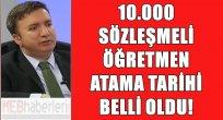 10.000 Sözleşmeli Öğretmen Atama Tarihi Belli Oldu!