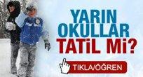 31 Aralık Perşembe Kar Tatili Olan İller!!