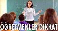 Adaylıktan Muaf Olup, Belgelendirmeyen Öğretmenler Dikkat!