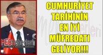 Cumhuriyet Tarihinin En İyi Müfredatı Geliyor!