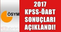 KPSS ÖABT Sonuçları Açıklandı!