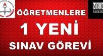 Öğretmenlere 1 Yeni Sınav Görevi -1 Aralık 2015- TIKLA - BAŞVUR