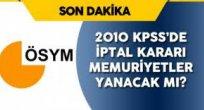 Son Dakika: 2010 KPSS GK-GY SINAVI DA IPTAL EDILDI!