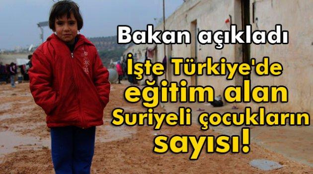Türkiye'de Eğitim Gören Suriyeli Öğrenci Sayısı Açıklandı!