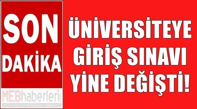 Üniversite Sınavı Yine Değişti!