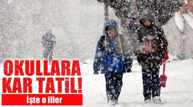 Yarın 18 İl için Kar Tatili İlan Edildi! ( Güncelleniyor...)