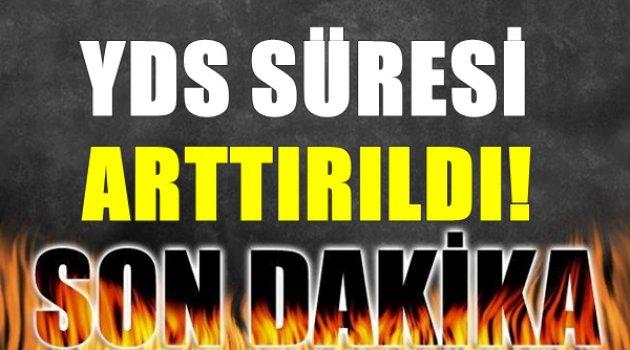 YDS Sınav Süresi Arttı!!